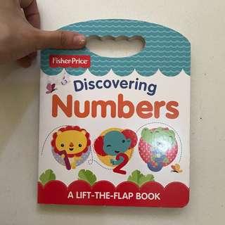 Children book / buku anak Fisher price counting nunbers