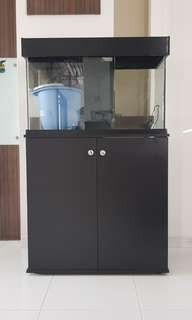 Tank plus Cabinet for sale