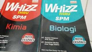 Biologi&Kimia reference book SPM