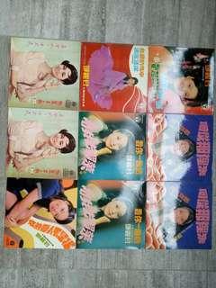 Record covers 9pcs