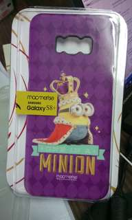 [外國正版」 Samsung S8+ Minion King Bob 硬身電話殼