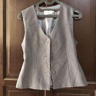 Accent Gray Vest