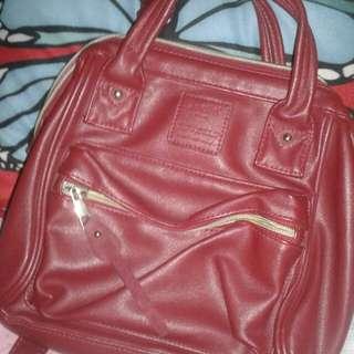 Anello Red Bag