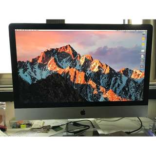 iMac 27吋 1TB HD 32GB RAM - 2.9GHz Late 2012 薄螢幕版本