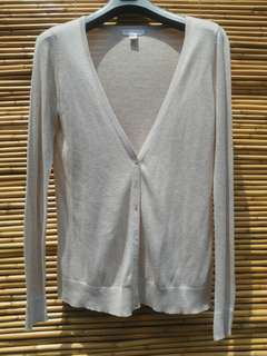 Forever 21 tan colored cardigan
