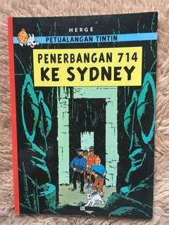 Petualangan Tintin - Penerbangan 714 Ke Sydney by Hergé