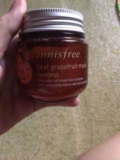 Innisfree real grapefruit mask