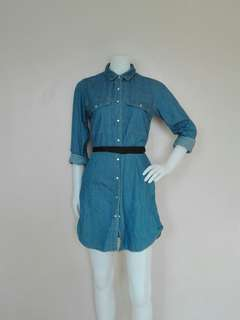 High quality denim dress