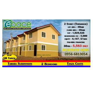 2 Bedrooms Townhouse near SM Tanza, Puregold. 50mins to Manila