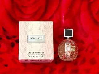Repriced! Bday Sale!!!AUTHENTIC Jimmy Choo EDT 40 Ml