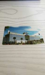 Disneyland classic tickets hotel card 迪士尼樂園紀念咭