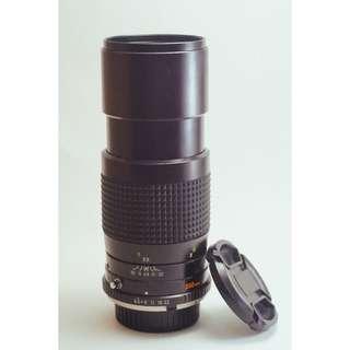 Minolta manual lens 28mm, 200mm with Fujifilm adapter