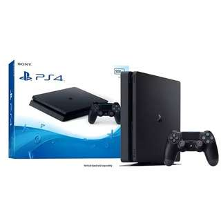 Sony PS4 500GB SLIM (With Games & Extra Controller)
