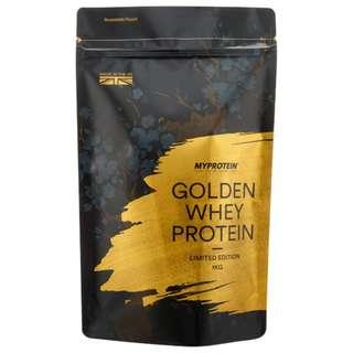 健身營養品*英國銷售冠軍Sports supplements UK No.1 MYPROTEIN GOLDEN WHEY PROTEIN黃金版乳清蛋白(1公斤)焦糖口味