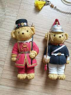 Fridge Magnet Bear cute London soldier army royal