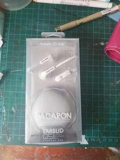 Earphones with case