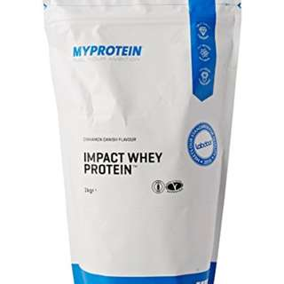 🚚 Sports Nutrition UK#1 Myprotein Impact Whey Protein(2.2lbs)Milk tea健身營養品*英國銷售冠軍乳清蛋白奶茶口味