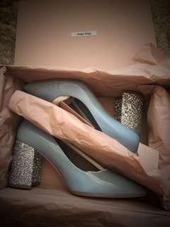 Miu Miu glittery high heel