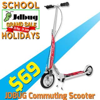 $69 only! Air Tire foldable Kick Scooter - Jdbug MS138J