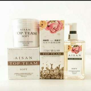 Aisan Top Team Shampoo & Hair Mask