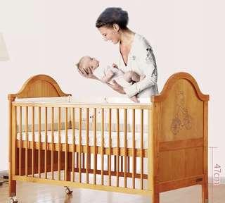 Baby / kids cot crib & mattress
