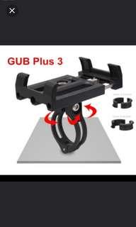 Brand New! GUB PLUS 3 360 rotating MTB bicycle phone holder motorcycle support GPS mountain for bike handlebar bike accessories beyond G85,G86