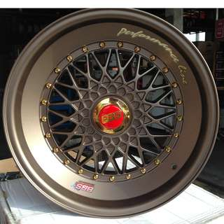 17inch RIM BBS WISH PRIUS CALDINA VW POLO ALL CAR
