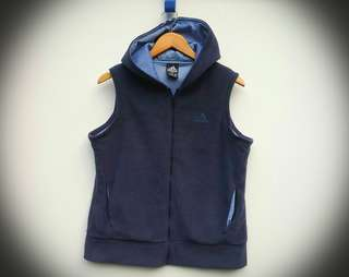 Adidas Flease Jacket Vest × Navy Blue Men's S/