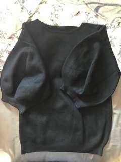 🚚 針織花苞袖上衣