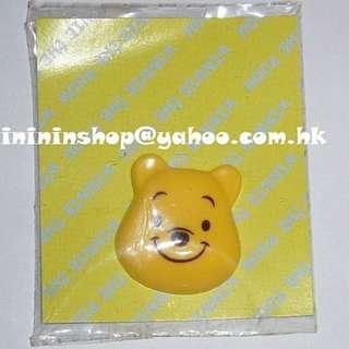 包郵 全新原裝正版 超可愛Disney小熊維尼 Winnie The Pool大頭立體 磁石 磁貼 文具