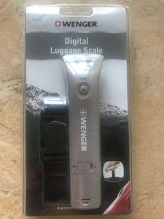 WENGER DIGITAL LUGGAGE SCALE