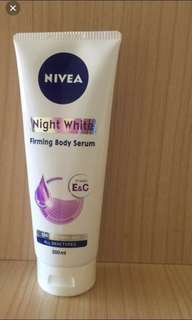 Nivea Night white Firming body serum (200ml)