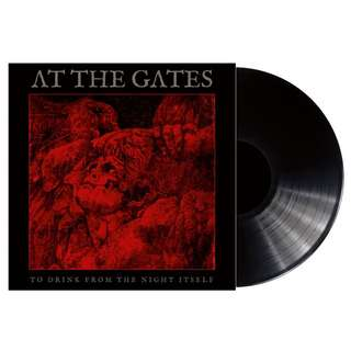 At The Gates – To Drink From The Night Itself (Black) Vinyl LP