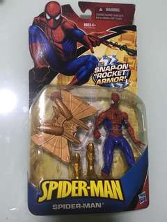 Spider Man toy with armour