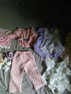 Baby Clothes Bundle for only 350 pesos !!!