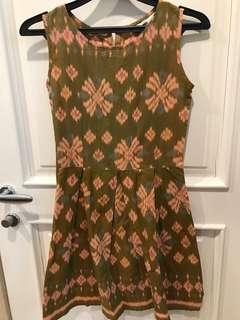 2010 Made With Love Ikat Print Dress
