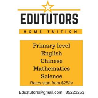 Home Tuition for Primary