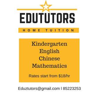 Home Tuition for Kindergarten