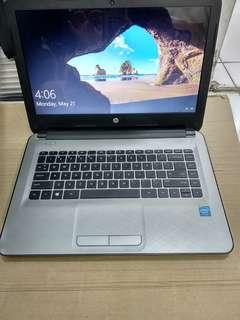 Laptop second hp 14 dualcore mulus no minus