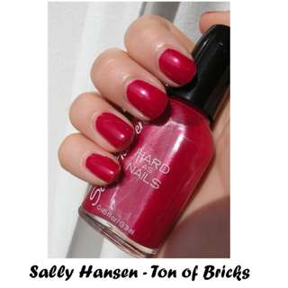 BN Sally Hansen Nail Polish