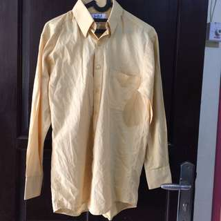 Harry Martin Yellow Shirt