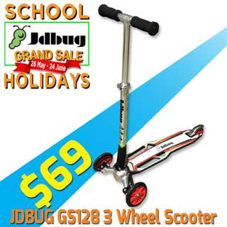 $69 only! 3 wheeler stunt scooter - Jdbug GS128J