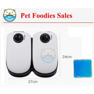 [Pet Foodies] DOUBLE TIMER AUTO FEEDER