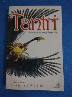 Novel Tantri Perempuan yang Bercerita by Cok Sawitri