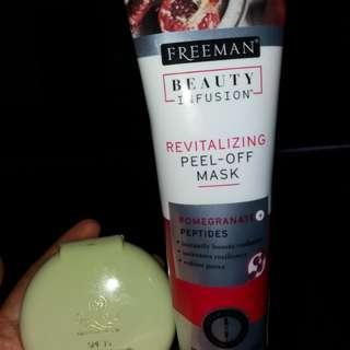 TERMURAH! Freeman beauty infusion revitalizing peel-of mask