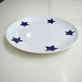 (PL) IKEA Salad Plate #15541 - Large 30cm Diameter - Made in Portugal