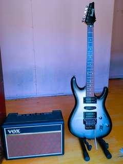 Ibanez gio gxr370+amp vox parfinder 15w