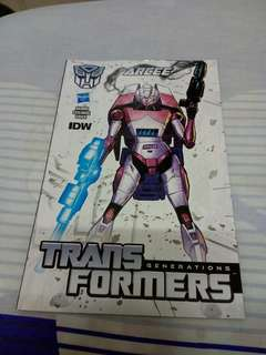 Transformers Generations Thrilling 30 Arcee Comic