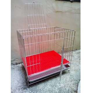 2尺不鏽鋼寵物籠