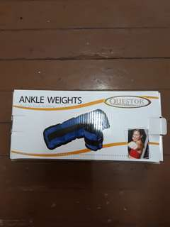Ankle Weights 1 LB 2 pcs